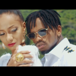 "diamond platinumz with his model in 'The one"" music video"