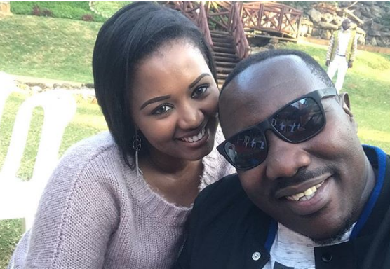 Willis Raburu defends his wife after critics call her out for 'denouncing God'