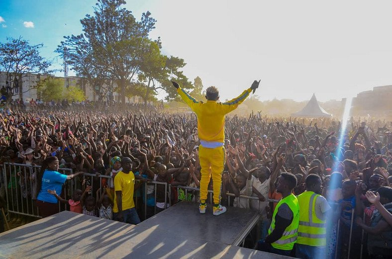 Here is the list of Kenya´s music industry´s bigwigs who attended Mr Seed´s ¨Made In Huruma¨ Successful concert