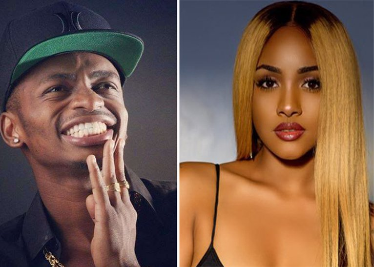 Diamond Platinumz and Tanasha Donna crowned ¨The King and Queen¨ of the music industry after Trending on number 1