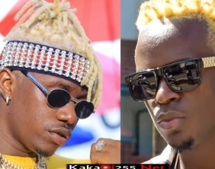 ¨My friend, listen, nobody steals from Pozee!¨ Willy Paul threatens Rayvanny for ´stealing´ his jam