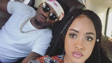 Diamond, joined by Rayvanny warn young man who claims Tanasha was her baby but Diamond 'stole' her