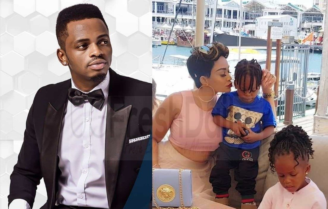¨I normally see the clips of Zari´s boyfriend with my two children¨ Diamond Platinumz publicly confesses