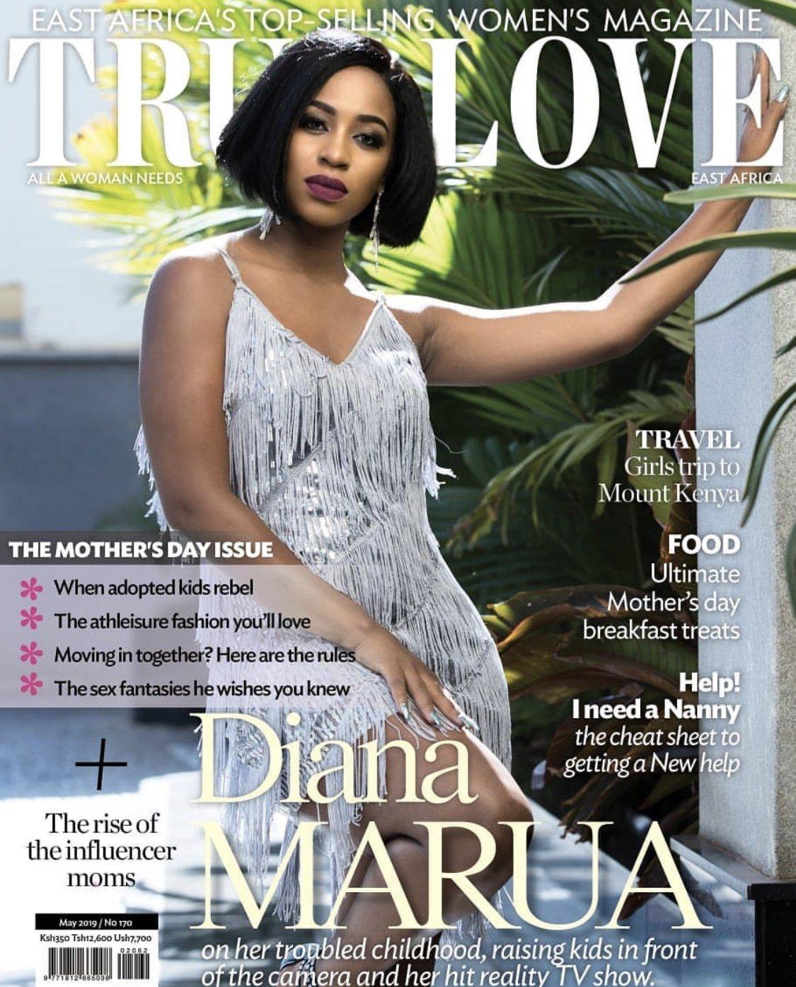 Bahati's hot wife, Diana Marua graces cover of True Love magazine!