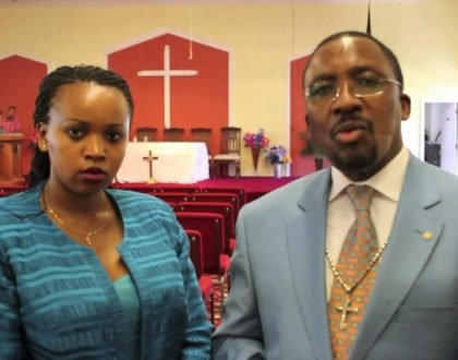 "Pastor Nganga shocks Kenyans yet again with ""stupid you're useless"" rant to fellow pastors disrespecting his young wife(video)"