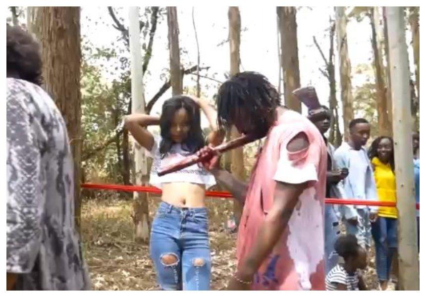 Kenyans disturbed by ¨Pigwa Shoka¨ new youth jam that glorifies violence against women