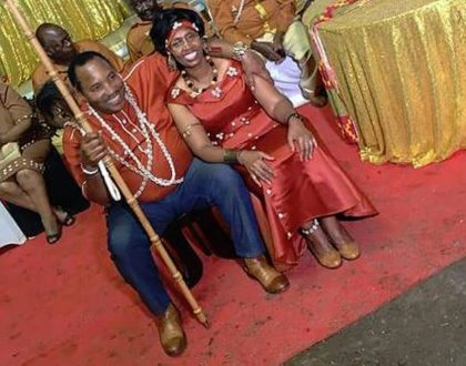 Waititu finally completes dowry payment of wife of 30 years