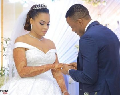 This is awkward! How Amina Khalef deliberately snubbed Ali Kiba's message on her birthday