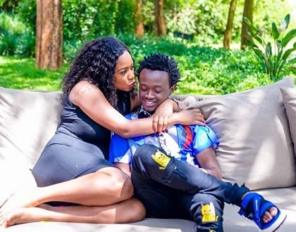 Bahati and Diana Marua
