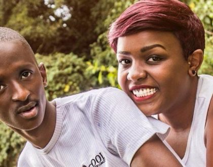 ¨Watu wakitoka dubai wanarudi dabo dabo¨ fans comment after Njugush´s wife shares suggestive baby bump photo