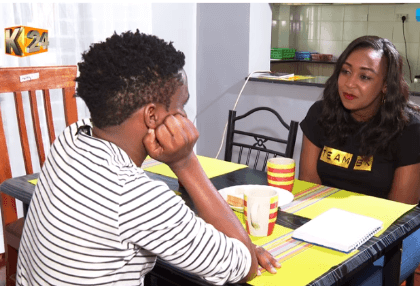 Photos: Chipukeeezy shows Betty Kyalo his house, explains why he bought so many things