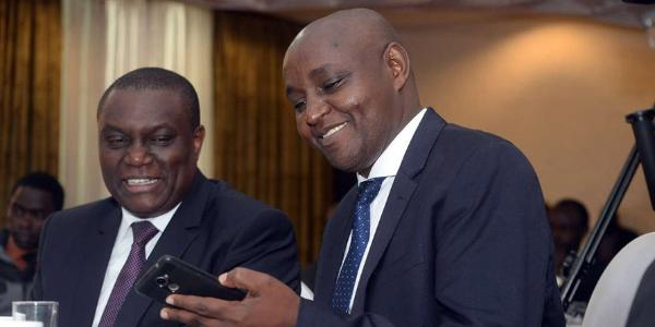 Co-operative Bank's Arthur Muchangi and Moses Gitau