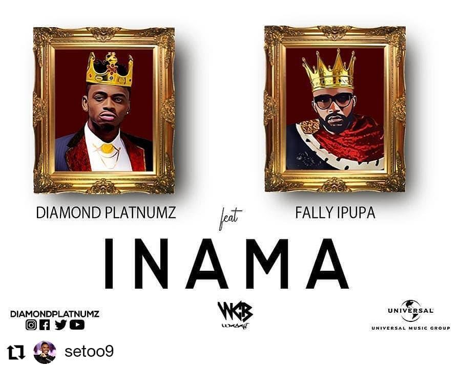 """'Inama"""" by Diamond Platinumz ft Fally Ipupa"""
