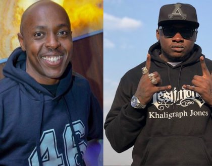 Rapper Khaligraph Jones pins down DJ Pinye for his pride