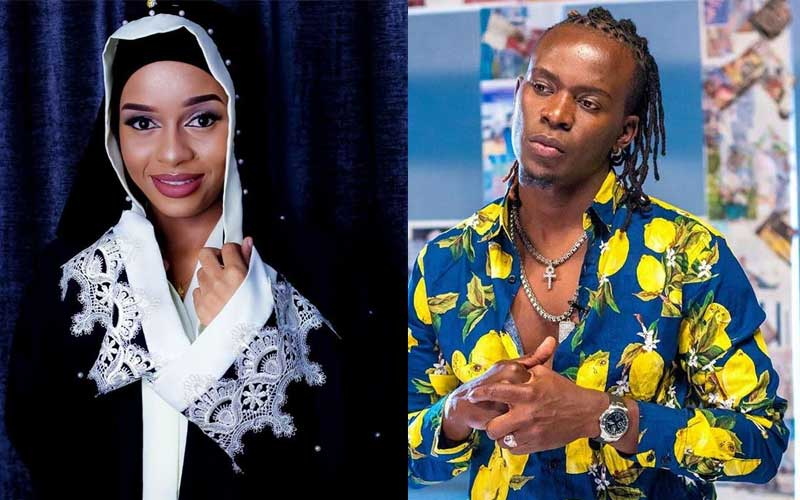 Willy Paul´s reaction after tycoon shows up at the airport to pick up Nandy