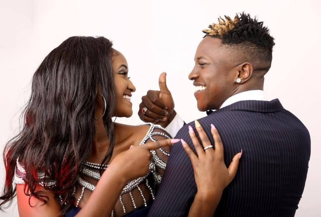 Nimo Gachuiri proves that her relationship with Mr Seed is still intact!