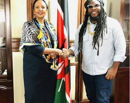 Let's legalize marijuana in Kenya- Morgan Heritage