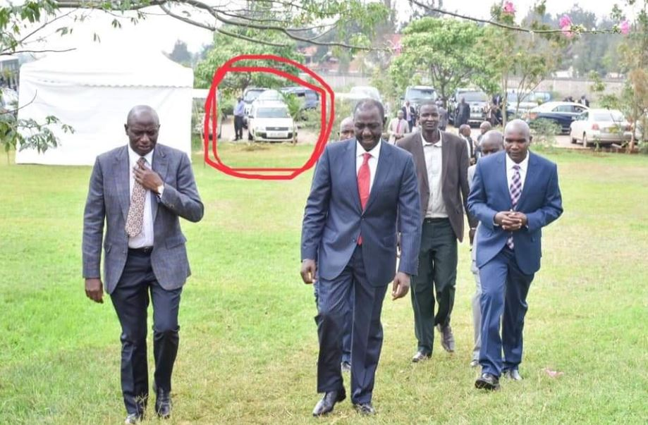 Comedians forced to apologize for parking probox in DP Ruto's Karen Residence