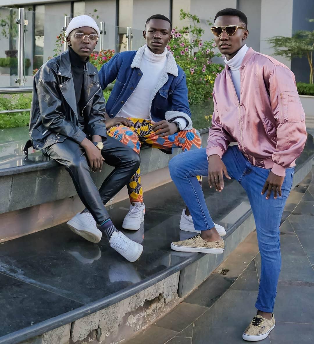 Jadi Boy band of Mimi na wewe song