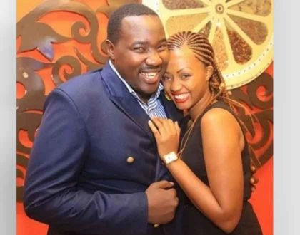 Citizen TV´s Willis Raburu and his naughty bad girl lavish each other on their wedding anniversary
