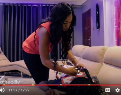 Best episode ever! Marua shaves off Bahati's dreads Delilah style in new episode of Bahati Reality and Kenyans enjoyed it