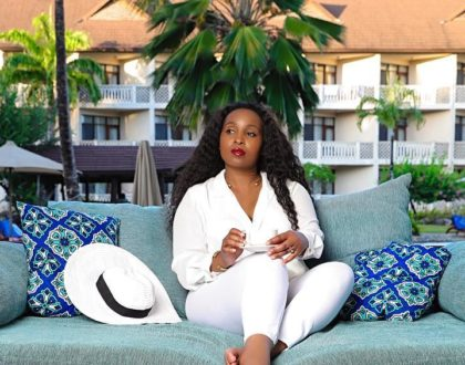 Former TV girl Sheila Mwanyigha back to making music? (Photos)