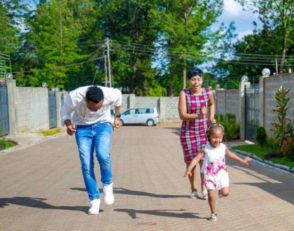 DJ Mo and Size 8 finally recover their daughter's social media page
