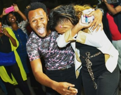 DJ Mo´s adorable surprise moves wifey, Size 8 to tears