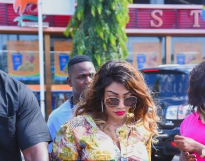 Zari Hassan's reply after landing in Tanzania then being asked about Diamond Platnumz by reporters