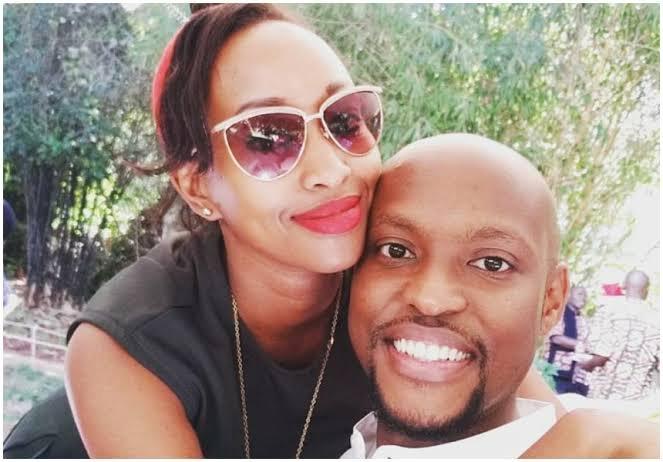 Janet Mbugua's husband finally denies marriage breakup rumors