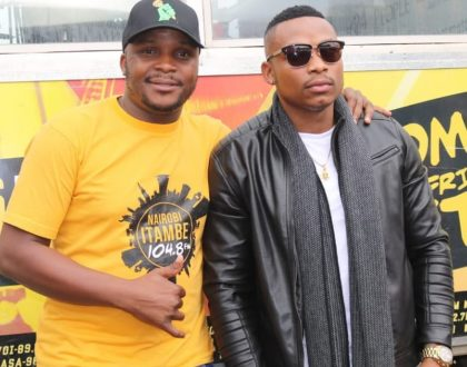 """He has been blood since day 1!"" Jalango and Otile Brown end Beef"