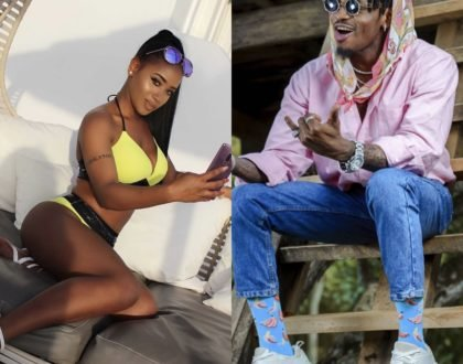 Another one! Meet the sassy Kenyan lady accused of being Diamond Platnumz side chick