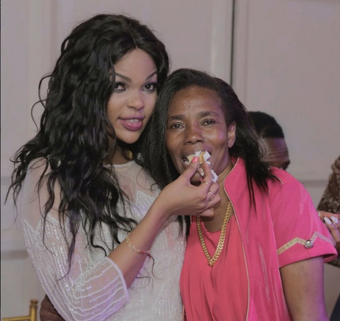 Mama Diamond Platnumz sweet message to Wema Sepetu after the actress was locked up
