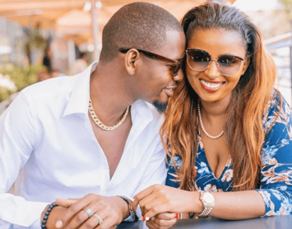 Anerlisa Muigai's husband proudly shows off his wild nail art - leaving tongues wagging on social media