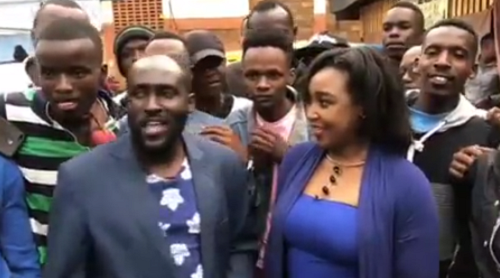 Prostitutes helped me in this Nairobi- DJ Shiti whispers to Betty Kyalo