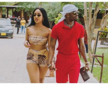"""Marriage is not what keeps a man around!"" Tanasha tells off idlers saying Diamond Platnumz should have proposed during the 707 Gatsby party"