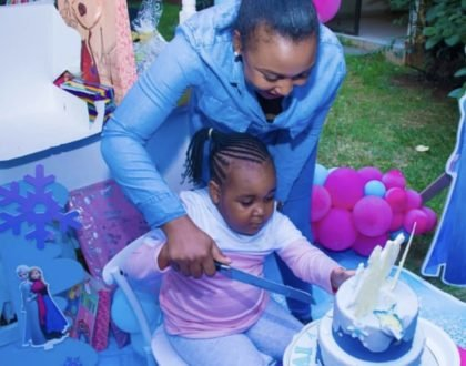 Betty Kyallo throws lit party to celebrate her daughter's 5th birthday!