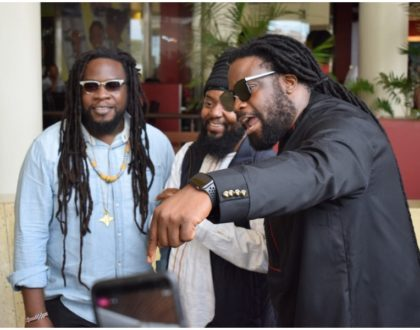 Meet and Greet: Morgan Heritage rub shoulders with Kenyan fans at Garden City  (Photos)