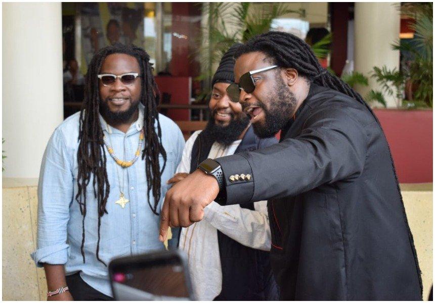 Meet and Greet: Morgan Heritage rub shoulders with Kenyan fans at Garden City (Photos)