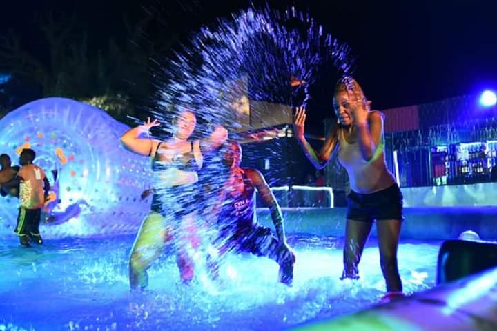 Wet nights at Bubbles Naivasha, get your bikini's ready