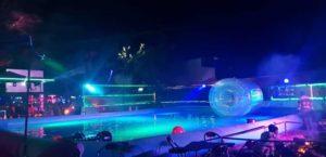 Club Bubbles dance floor