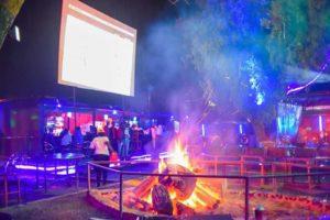 Bonfires in Club Bubbles Naivasha