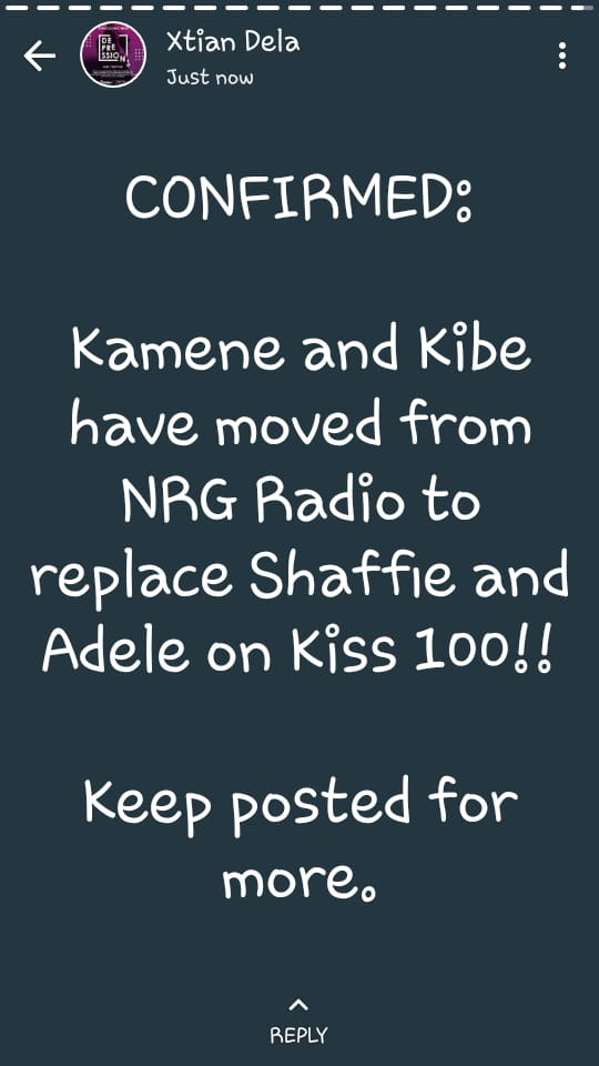 CONFIRMED: Andrew Kibe Leaving NRG Radio To Join KISS 100