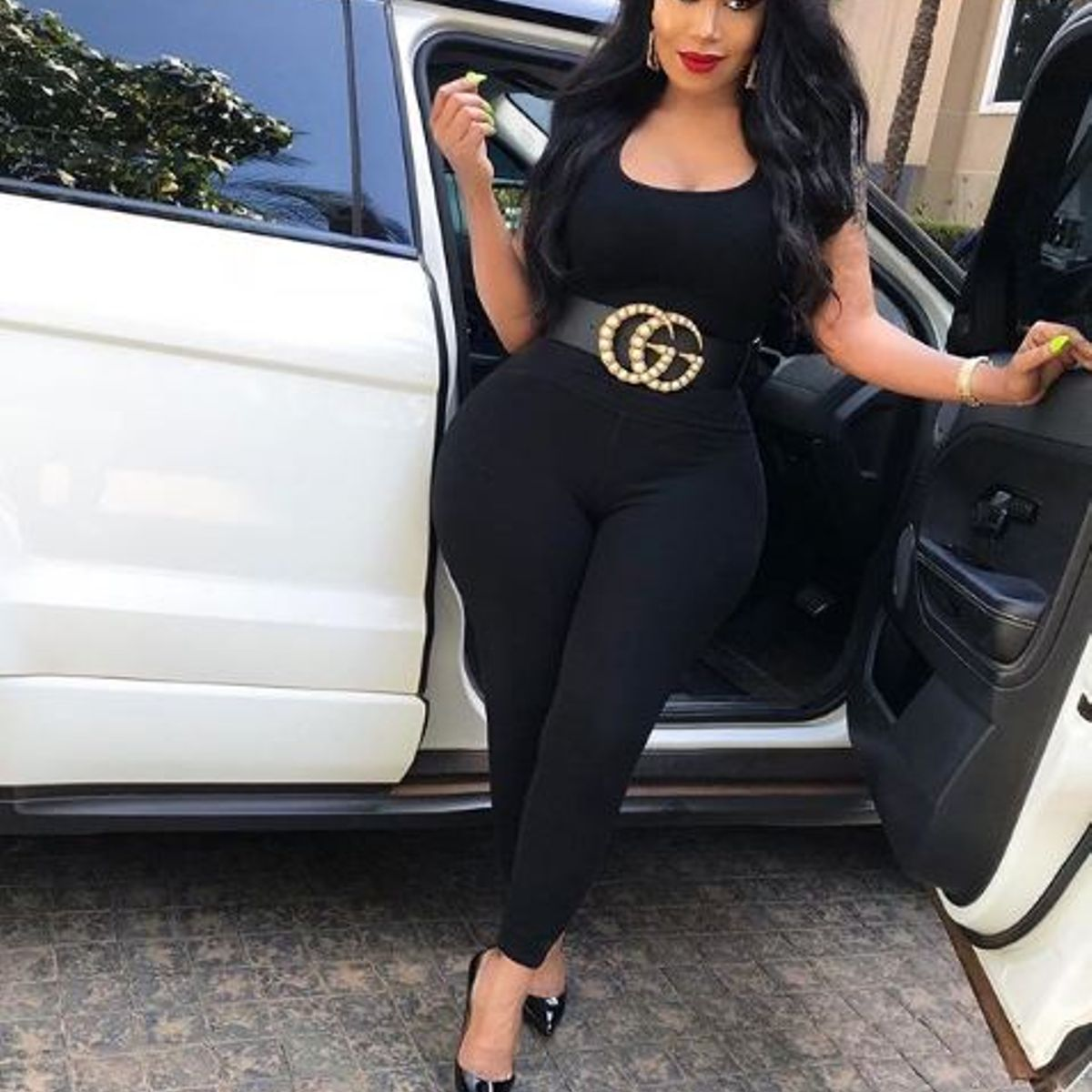 Vera Sidika flaunts her mega house and high-end car