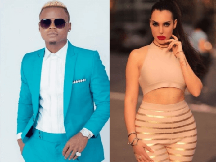 Explained! Harmonize discloses reason behind Italian girlfriend´s tattoo on his arm
