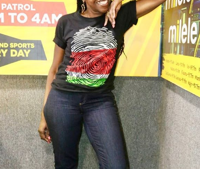 Former Papa Shirandula actress Wilbroda attacked by Kenyans for posting bathtub photo