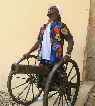 P-Square member slams Kenyan lady begging him on instagram to pay for her a holiday to the US
