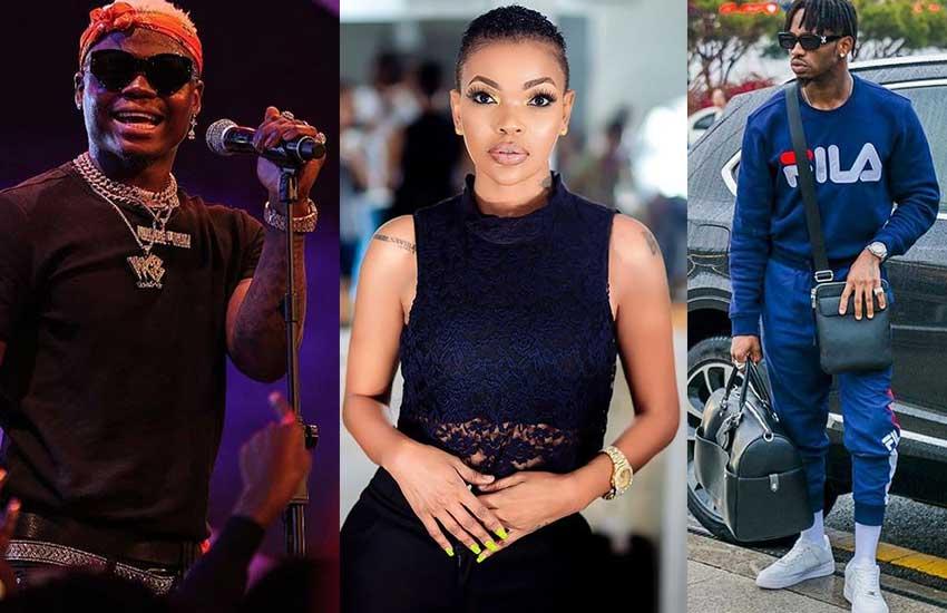Wema Sepetu clarifies on her ´Love´ for Harmonize and ´Hate´ for Diamond Platinumz