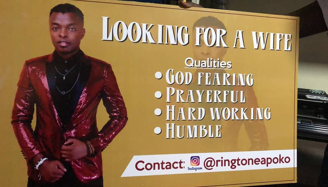 Ringtone's desperation to get a wife in 'Natafuta Bibi'