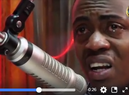 Video: Weezdom cries like a little boy while denying he exposed Mr Seed for sleeping with fan